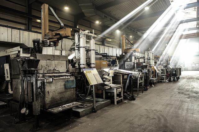 Jak się przestawia maszyny na halach?