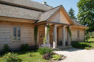 domy drewniane w Warszawie