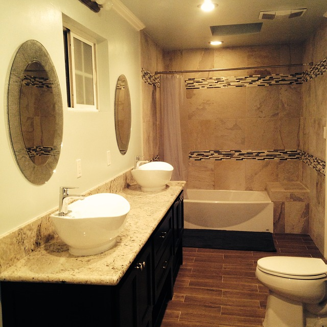 Wzbogacenie wnętrza łazienki umywalką wolnostojącą