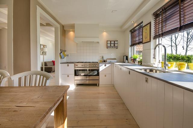 Nowoczesna i ergonomiczna kuchnia